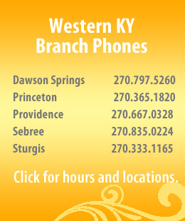 West KY Branch Phones