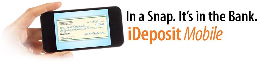 iDeposit Mobile Header. Depositing checks into your Planters Bank ... - Planters Bank - IDeposit Mobile