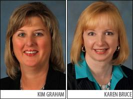 Kim Graham-Karen Bruce