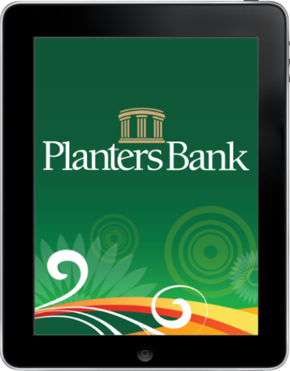 ipad2 - Planters Bank - Mobile Banking