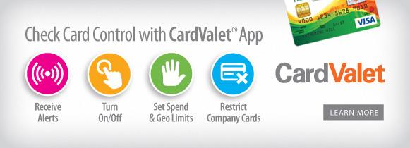 CardValet Banner