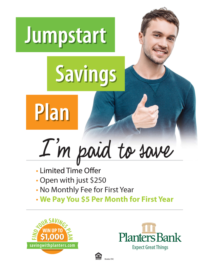 Basic Savings Jumpstart Savings - Planters Bank - Savings And CDs