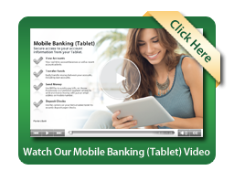 Mobile Banking Tablet