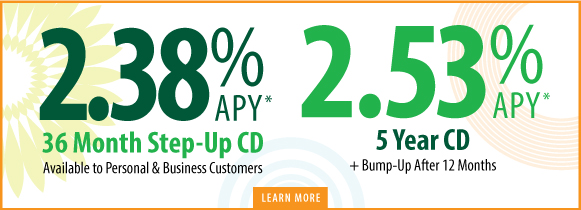 Learn More About our CD Specials